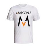 Camiseta Maroon 5 Adam Levine Pop Rock Camisa