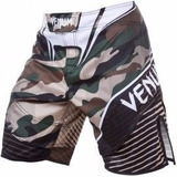 Short Mma Venum Modelo Venum Camo Hero Fight Shorts