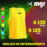 Chaleco De Entrenamiento Adulto - Mgr Sport Oficial