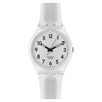 Surco Reloj Swatch Blanco
