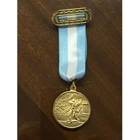 Medalla Bomberos Condecoración Con Cinta Y Pasacinta