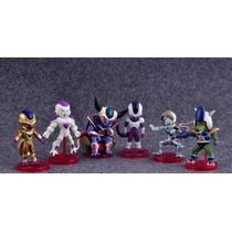 Muñecos Gashapon Dragon Ball Wcf Dwc Frezer. Set 6 Unidades