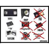 Conversion De Video A Dvd (minivhs, Vhs)
