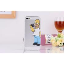 Funda Homero Simpson Iphone 6, 6 Plus Evnvio Gratis Ipho6