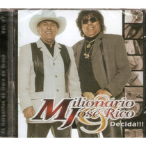 Cd Milionário & José Rico - Decida!!! - Novo***