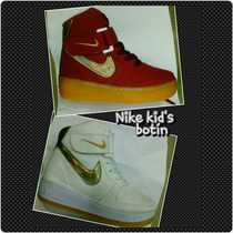 Botín Zapato Niñas Nike A La Moda Precio De Locura