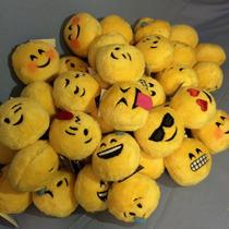 12 Llaveros Emoji, Whatsapp, Peluches, Emoticonos, Emojis
