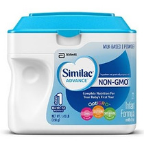 Similac Advance No-gmo Lactantes Con Iron Etapa 1 23,2 Onza
