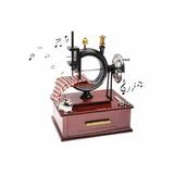 Máquina De Costura Música Box | Brinquedo | Porta Joia