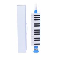 Escaleta Pianica Melodica Zion Plander Azul 27 Tcl Clarineta