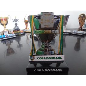Taça Da Copa Do Brasil - Miniatura 3d Paper
