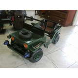 Jeep Willis Antiguo Metalico De Coleccion Restaurado