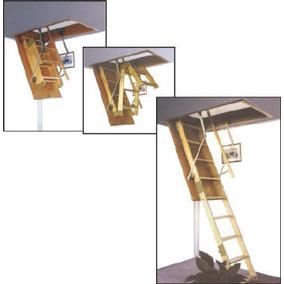 Escaleras Rebatibles Para Altillos En Madera