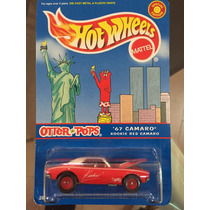 Hot Wheels - Camaro 67 - Kookie Red Camaro Llantas De Goma