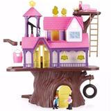 Casa Del Arbol Para Montar Con Figuras Y Accesorios Educando