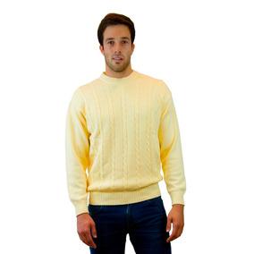 Buzo - Sweater A La Base Con Trenzas Algodon Burma