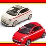 Carrinho Fricção Som E Luzes Tunado Irado Fiat 500 1:32 Dtc