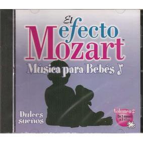Cd - El Efecto Mozart - Música Para Bebés Vol. 2