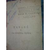 Tabaré Y La Leyenda Patria, Por Juan Zorrila De San Martin