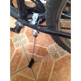Parador Central Aluminio Para Bicicleta Retro, Fixie, Ruta M