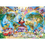 15785 Mapa De Disney Ravensburger Rompecabezas 1000 Pzs