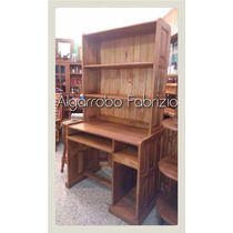 Escritorio Para Pc Con Biblioteca De Algarrobo