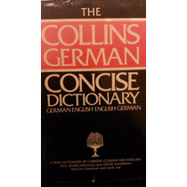 Dicionário Collins German Concise Dictionary German-english
