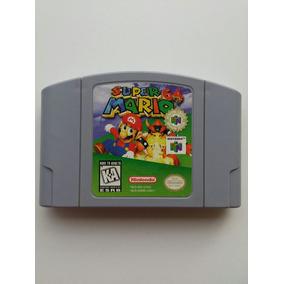 N-64: Super Mario 64 Original Americano!! Cartucho Novinho!!