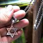 Pingente Aço Inox 316l Estrela De Davi Salomão Hexagrama