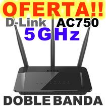Router 3 Antenas Dlink Ac750 Doblebanda Wifi Largo Alcance