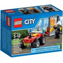 Lego City 60105 Veículo Off- Road De Combate Ao Fogo 64 Pç