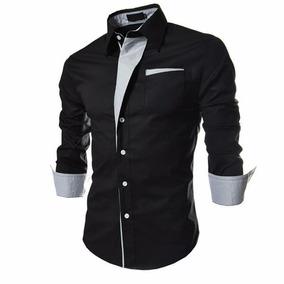 Camisa Social Slim Fit Luxo Importada - Melhor Preço Do Ml!