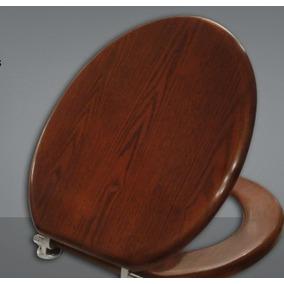 Tapa inodoro madera todo para ba os en mercado libre for Tapa inodoro madera