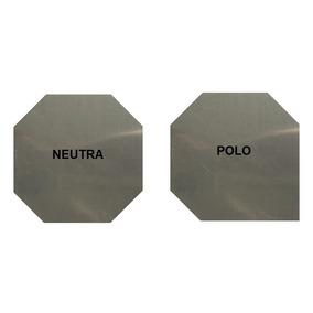 Placa Aço Inox 316l - P/ Gerador Hidrogênio Hho 1x110x110mm