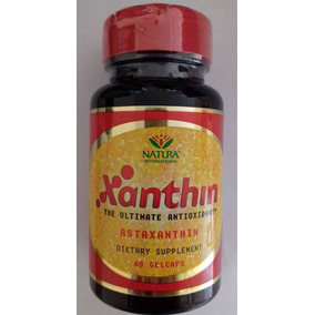 Xanthin ( Astaxantina Natural) 60 Softgels