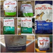 Royal Canin Maxi Adulto, Mini Adulto, Chihuahua, Pug.