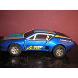 Renault Alpine 310- Friccion Chapa Japon Año70- Devoto Toys