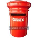 Buzon Rojo Estilo Correo Argentino. Cartas, Cartero, Correo.