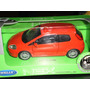 Auto Fiat Grande Punto Coupe 12cm Colección Welly Nex Único