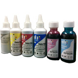 Tinta Ati Para Impresoras Epson L800 T50 Pack 6 Colores