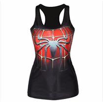 Playera Camiseta 3d Impresa Hombre Araña Spiderman Envio Gra