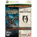 Bioshock Y The Elder Scrolls: Olvido Bundle - X Envío Gratis