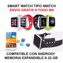 Smart Watch Celular Android Con Camara Bluetooth Iwatch