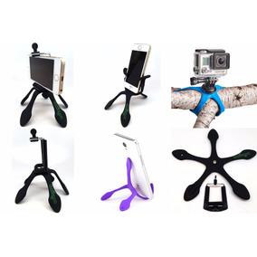 Suporte Pentapé Selfie Camera Gopro Celular Flexível Gekpod