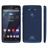 Motorola Droid Turbo 32gb Android 6 4g 3gb Ram Nylon Blue!!