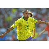Camiseta Selección Brasil Adriano 2004-06 Por Encargue