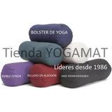 Bolster Cilindro Yoga Almohadon Iyengar Meditacion