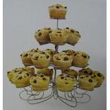 Atril Cupcakes Para 23 Unidades, Reposteria