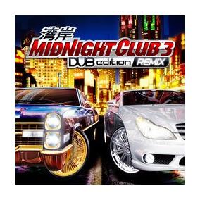 Ps3 Pacote Midnight Club 1 + 2 + 3 Dub Remix + Los Angeles