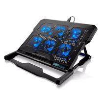 Cooler Hexa Notebook Led Luminoso Suporte Base Multilaser